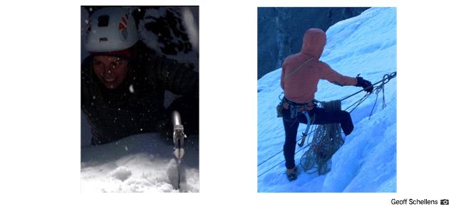 Ice Climbing (Geoff Schellens)