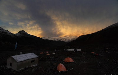 Aconcagua: Scott & Team On the Fourth Day… We Took a Rest