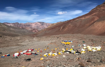 Aconcagua: Scott & Team Return to Basecamp