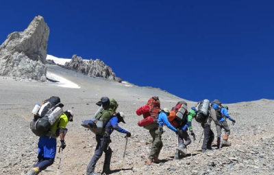 Aconcagua Expedition: Gorum & Team Move to Camp 2