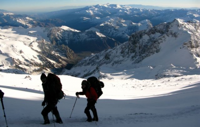 Aconcagua: Smith & Team Carry to High Camp