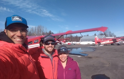 Alaska: Elias & Team Fly Onto the Root Canal Glacier