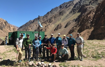 Aconcagua Expedition: King & Team Ready to Hit the Trail
