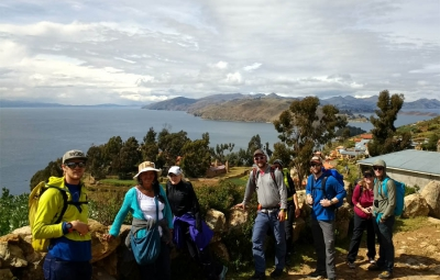 Bolivia Expedition: Frank & Team Tour Isla del Sol