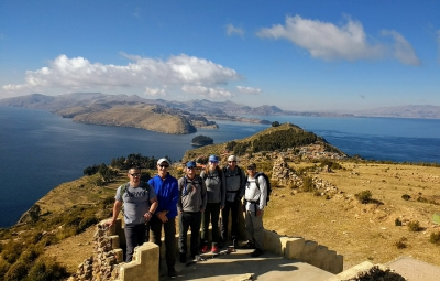 Bolivia: Frank & Team Acclimating on Isla del Sol