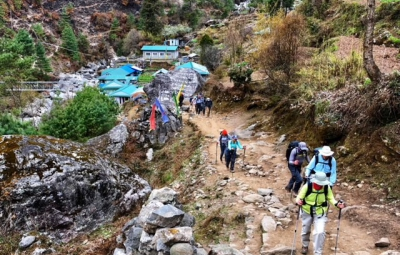 Everest Base Camp Trek: Grom & Team Complete Trek, Arrive in Lukla
