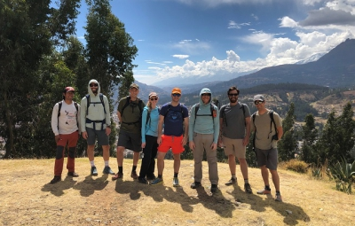 Expedition Skills Seminar - Peru: Young & Team Enjoy Huaraz and take Acclimatization Hike