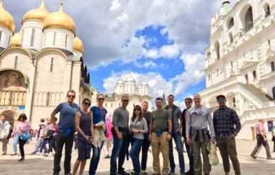 Mt.Elbrus: Grom & Team Meet in Moscow and Explore the Sites