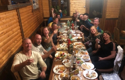 Mt. Elbrus: Grom & Team Enjoy Day in Cheget after Climb