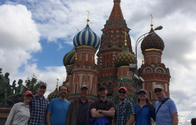 Mount Elbrus Expedition: Mark Tucker and Team Arrive in Moscow
