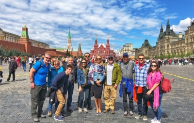 Mt. Elbrus: Grom & Team Arrive in Moscow