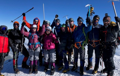 Grom & Team Summit Mt. Elbrus!