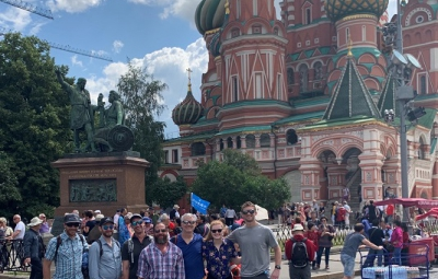 Mt. Elbrus Ski: Reid & Team Arrive Moscow and Explore City