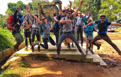Kilimanjaro: Grom & Team Back at Lodge Post Climb