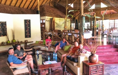 Kilimanjaro: Grom & Team Meet at the Arumeru River Lodge