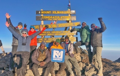 Kilimanjaro: Grom & Team Reach Roof of Africa!
