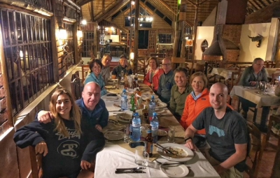 Kilimanjaro: Grom & Team Gather at the Arumeru Lodge