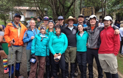 Kilimanjaro: Hahn & Team at First Camp