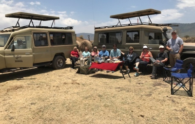 Kilimanjaro: Hahn & Team See an Abundance of Animals at Ngorongoro Crater