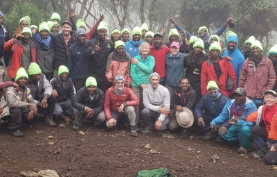 Kilimanjaro: Okita & Team Descend Through the Mweka Gate