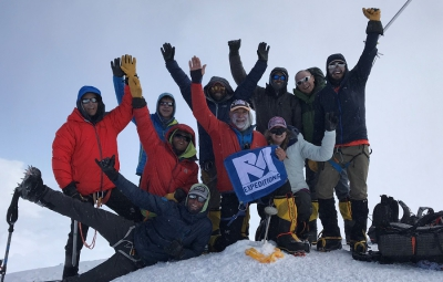 Denali Expedition: Young & Team Summit North America's Highest Peak