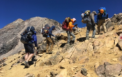 Mexico Volcanoes: King & Team at Ixtaccihuatl's High Camp