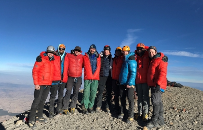 Mexico's Volcanoes: King & Team Are Safely Down from Orizaba