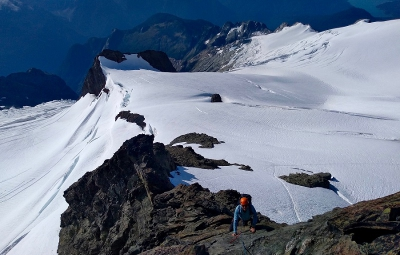 North Cascades: Frank & Team Finish Successful Summit of Mt. Shuksan