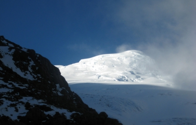 Ecuador Volcanoes: Knoff & Team Train on Cotopaxi