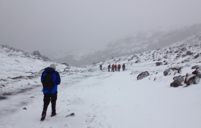 Ecuador Volcanoes: Knoff & Team Thwarted By Winds on Cayambe