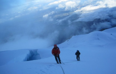 Ecuador Volcanoes: Walter & Team Summit Cotopaxi!