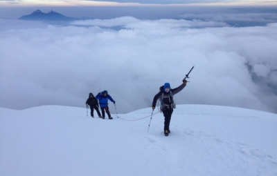 Ecuador Volcanoes: Knoff & Team Summit Cotopaxi!