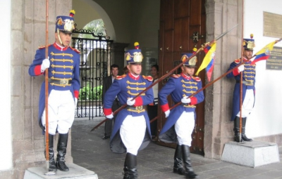 Team Arrives in Quito, Equador