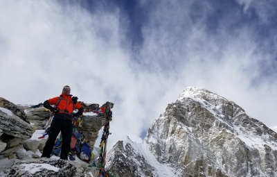 Everest BC Trek & Lobuche Climb: Dale & Team Enjoy Beautiful Himalaya Views to Gorak Shep