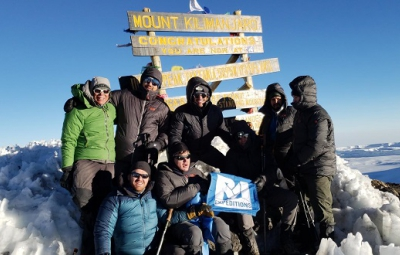 Kilimanjaro: Okita & Team Reach Summit!