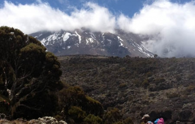 Kilimanjaro: Hahn & Team Get Quick Glimpse of Kilimanjaro Before Ascending to Shira Camp