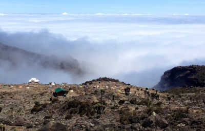 Kilimanjaro: Hahn and Team ascend the Lava Tower