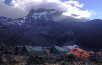 Kilimanjaro: Hahn & Team reach Barranco Camp