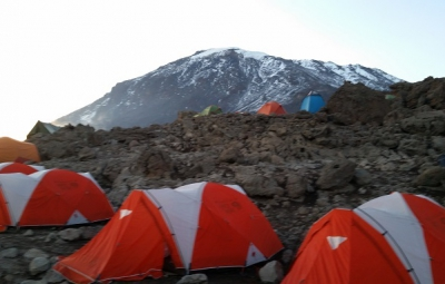 Kilimanjaro: Tucker & Team Arrive at Barafu High Camp