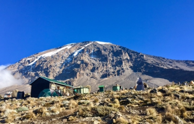 Kilimanjaro: Hahn & Team at High Camp Ready for Summit Bid