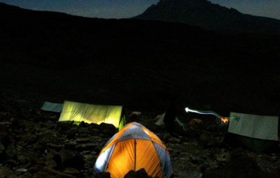 Kilimanjaro: Team Moves to High Camp