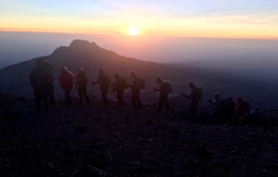 Kilimanjaro: Hahn &  Team Summit Highest Point in Africa