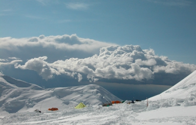 Denali Expedition: Young & Team Settle in at 11,000' Camp