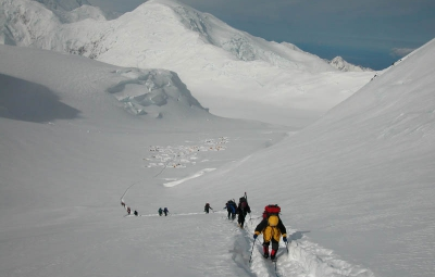 Denali Expedition: Hailes & Team Make a Carry to 13,500'