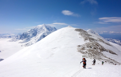 Denali Expedition: Walter & Team Ascend to Genet Basin Camp at 14,200'
