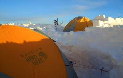 Denali Expedition: Walter & Team Improve Camp Life at 14,000'
