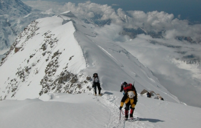 Denali Expedition: Haugen & Team Move to High Camp