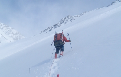 Denali Expedition: King & Team Move Up to 17,200'