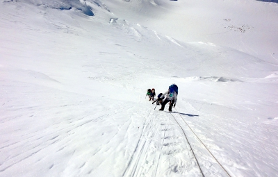 Mt. McKinley: Haugen and Team Move to 14,000' Ready For Summit Attempt