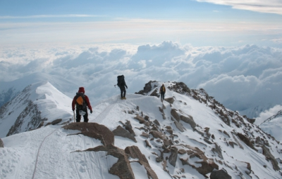 Denali Expedition: Haugen & Team On Their Descent